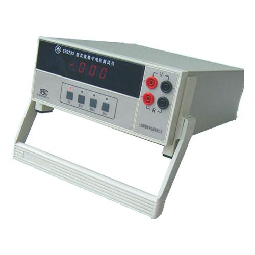 上海澄洋SB2233直流数字电阻测量仪