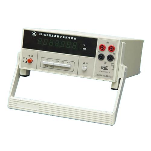 上海澄洋SB2238直流数字电流电压表